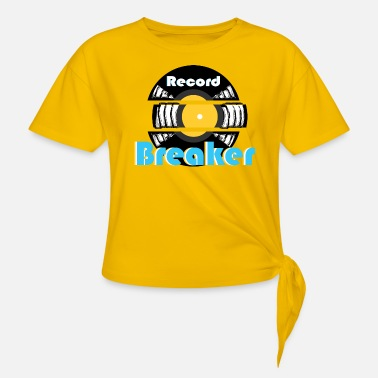 record breaker - Knotted T-Shirt