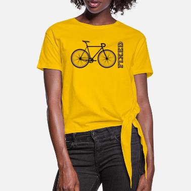 Fixie Rennrad Fixie Fixed - Knotenshirt