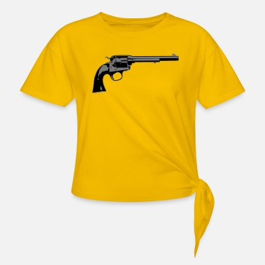 Revolver revolver - Knotted T-Shirt