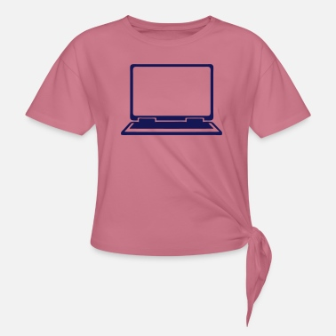Icon Laptop computer icon 802 - Knotted T-Shirt