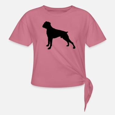 Boxer Dog - Knot-shirt