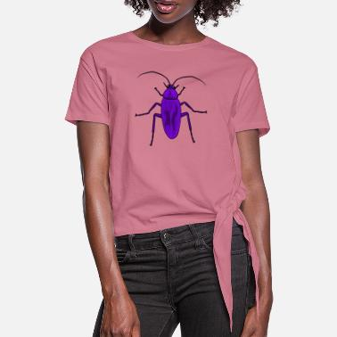 Vermin Insect pest vermin - Women's Knotted T-Shirt