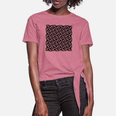 Dynamic Dynamic texture - Women's Knotted T-Shirt