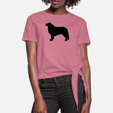 Pyrenean Mountain Dog Great Pyrenees - Women's Knotted T-Shirt