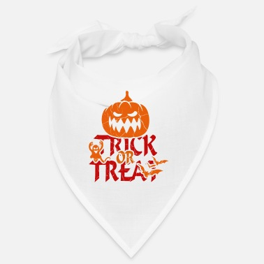 Trick Or Treat Trick or Treat at Halloween - trick or treat - Bandana