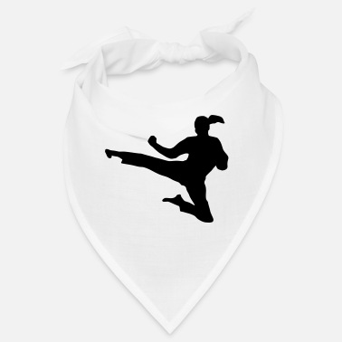 Martial Arts - woman - Bandana