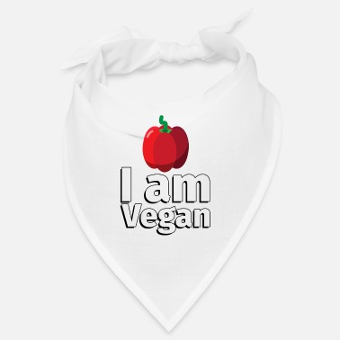 Frugt I am Vegan Peppers - Illustration - Bandana