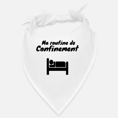 Coronavirus Containment sleep humor - Bandana