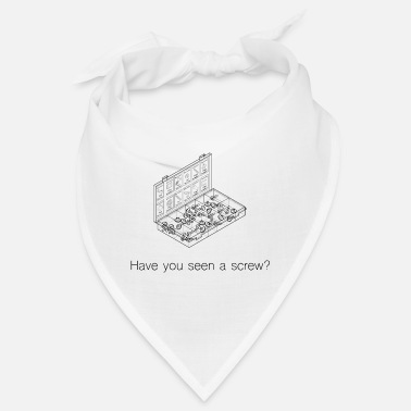 Have you seen a screw font home improvement - Bandana