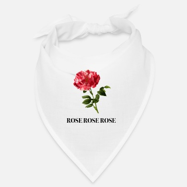 Rose Print Gift Idea - Bandana
