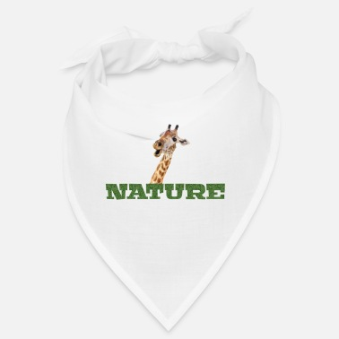 Nature Giraffe Natur Nature - Bandana