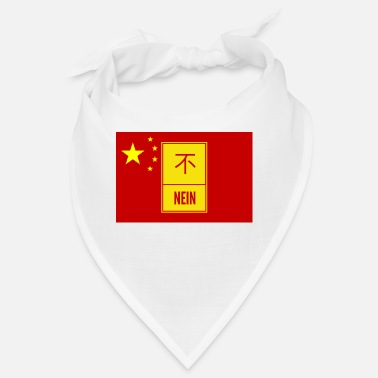 China Nein zu China - Bandana