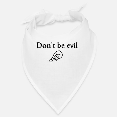 Cool don't be evil ( search engine slogan) - Bandana