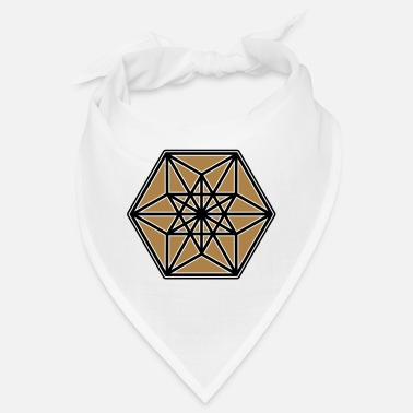 Cuboctahedron, structure of the universe, Fuller - Bandana
