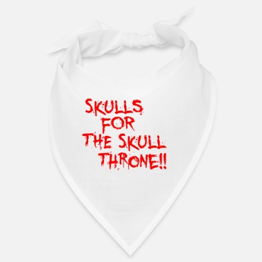 Throne skull throne - Bandana