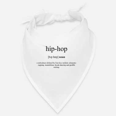 Baggypants Hip-Hop Definition Unisex T-Shirt - Bandana