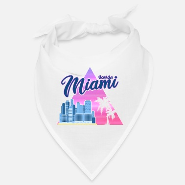 Spring Break Miami Neon Upside - Bandana