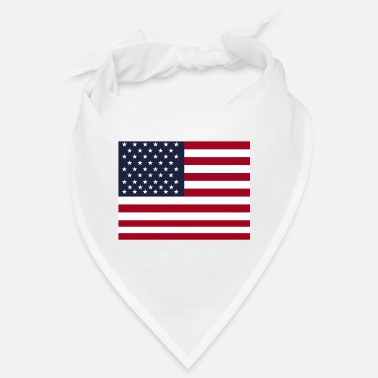 Stars And Stripes USA flag America - Bandana