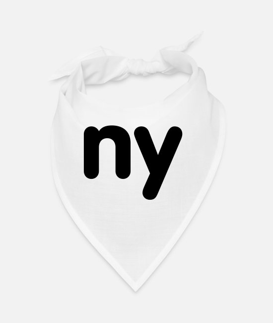 New York City Bandanas - ny - new york - Bandana white