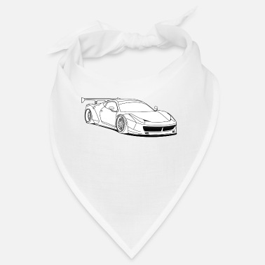 Custom Car custom car white - Bandana