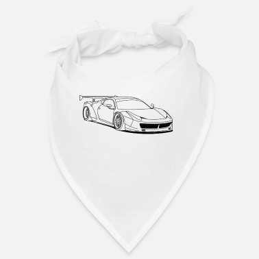 Custom Car custom car outlines - Bandana