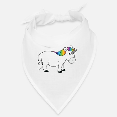 Fairy Tail Unicorn with rainbow tail - Bandana