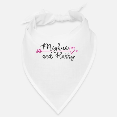 HT Royal Wedding Meghan Harry Arrow - Bandana