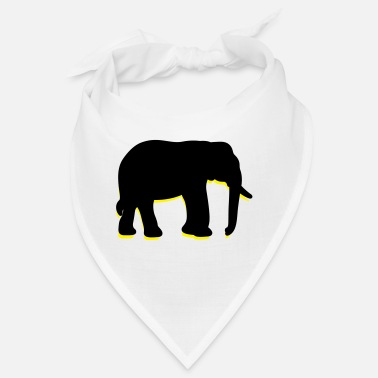 Intelligence A big elephant with trunk - Bandana