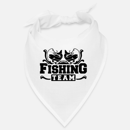 Bait Bandanas - fishing_team_dp1 - Bandana white