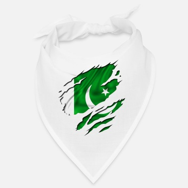 Country Flag Football Sport And Arab Art Jesus country flag pakistan - Bandana