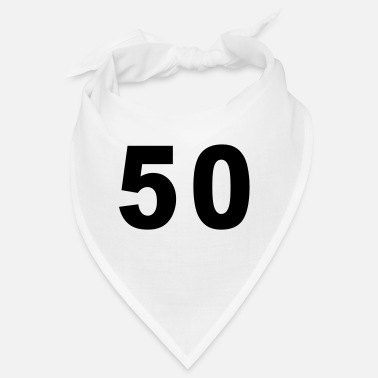 Fifty Number - 50 – Fifty - Bandana