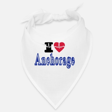 Anchorage i love Anchorage - Bandana