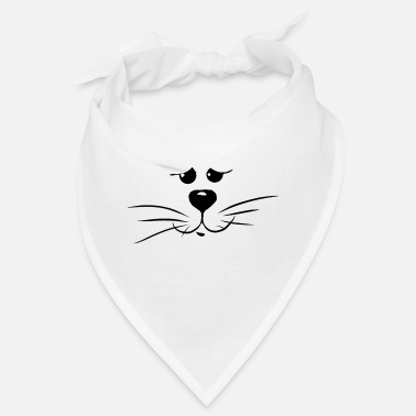 cat face - Bandana