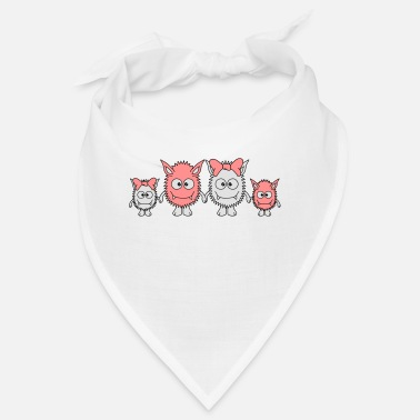 Cute Monster Cute Monster Family - Bandana