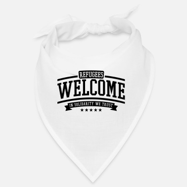 Krise refugees_welcome_2_f1 - Bandana