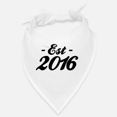 Established established 2016 - Bandana