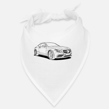 Custom Car cool car outlines - Bandana