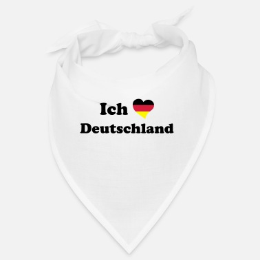 I Love Germany I love Germany - Me encanta Alemania - Bandana