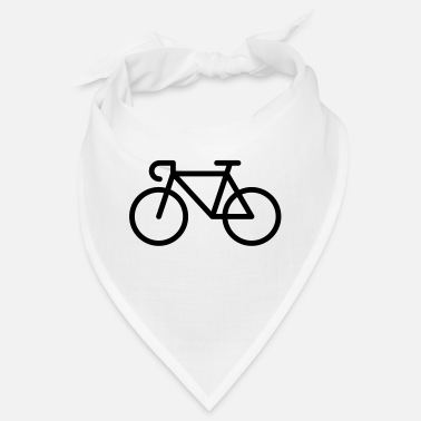 Pictograph Racing Bicycle / Bike (Icon / Pictogram) - Bandana