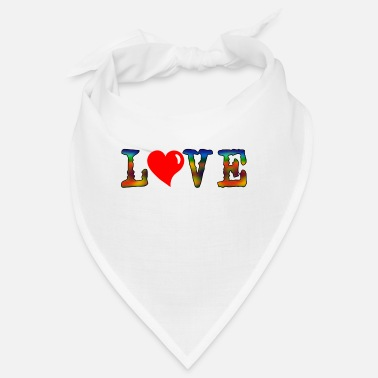 Love heart - Bandana
