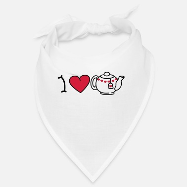 Iheart I love tea - Bandana