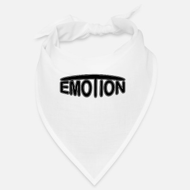 Emotions emoTion - zwart - Bandana