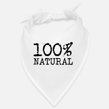 Naturellement 100% naturel - 100% naturel - Bandana
