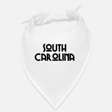 Southern States South Carolina - Columbia - Charleston - US State - Bandana