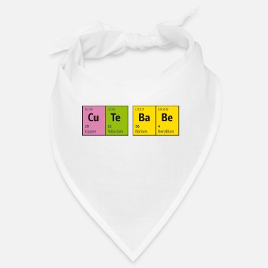 Tv Periodic Table of Elements CuTe BaBe (cute baby) - Bandana