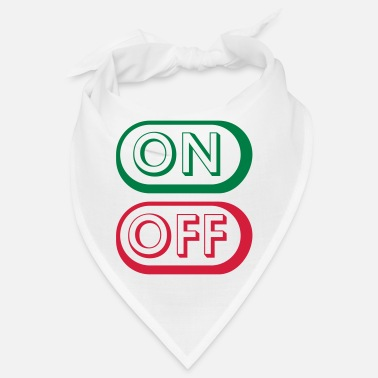 Off On Off Buttons - Bandana