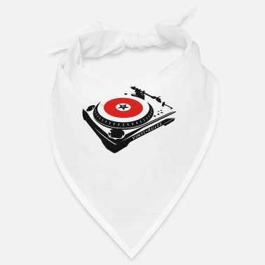 Turntable Vinyl Rules TURNTABLE - Bandana