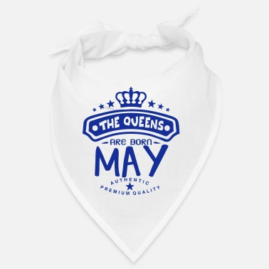 may born queens crown logo - Bandana
