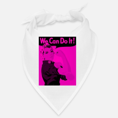 Empowerment Female Empowerment - We can do it! - Bandana