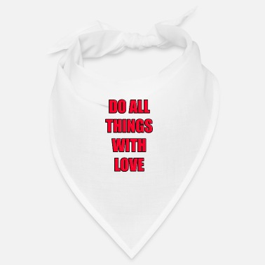 Modus DO ALL THINGS WITH LOVE - Bandana